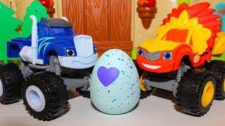 Мультики про машинки Игрушки Вспыш и чудо машинки  Яйцо Hatchimals Мультфильмы для детей 2018