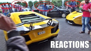 2 Lamborghinis Enter Petrol Station In INDIA & This Happens