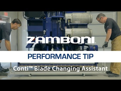 Zamboni Blade Changing Assistant