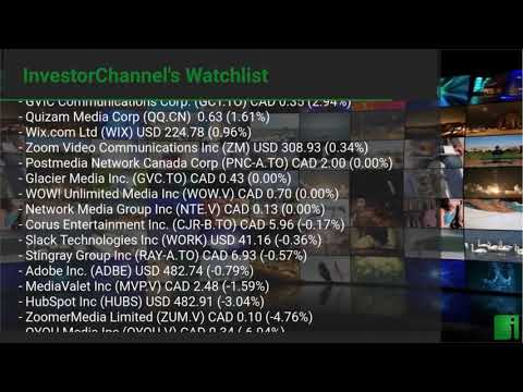 InvestorChannel's Media Watchlist Update for Monday, May,  ... Thumbnail
