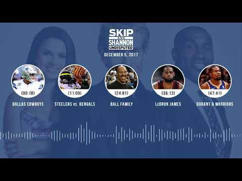 UNDISPUTED Audio Podcast (12.05.17) with Skip Bayless, Shannon Sharpe, Joy Taylor | UNDISPUTED