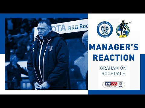 Match Reaction - Graham Coughlan - Rochdale AFC