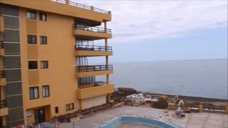 Вид на Атлантический океан с балкона апартаментов на Тенерифе
