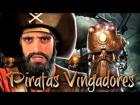 Sea of Thieves - Em busca das GEMAS do INFINITO, os piratas VINGADORES