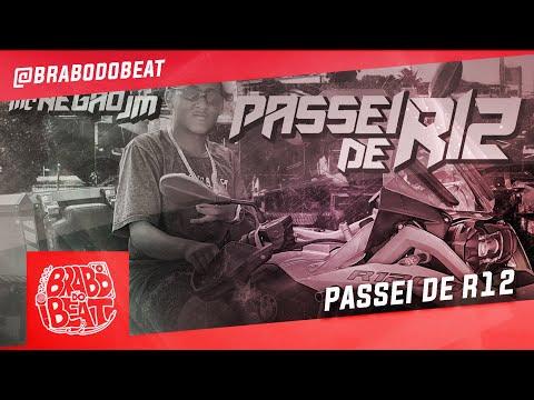 MC Negão JM - Passei de R12 (DJ Biel Elite) Brabo dos Beats