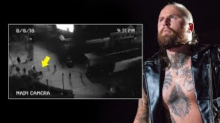 Surveillance video from the night of Aleister Black's attack: NXT Exclusive, Aug. 16, 2018