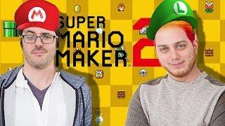 Lasercorn & Jovenshire Mario Maker 2 Race