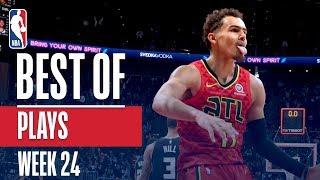 NBA's Best Plays   Week 24