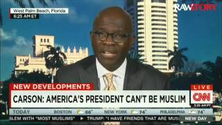Armstrong Williams defends Ben Carson's anti-Muslim comments