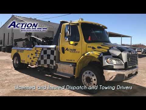 Action Wrecker Service Inc  - 1109 S  Midland Dr , Midland, TX