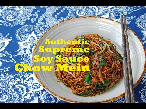 How to Make Authentic Cantonese Chow Mein