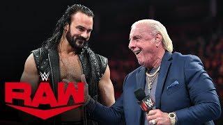 Ric Flair names Drew McIntyre to Team Flair: Raw, Oct. 21, 2019