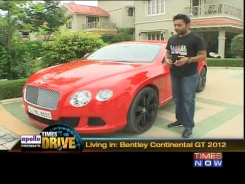Times Drive: Living in with the Bentley Continental GT 2012
