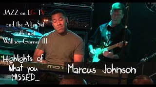 Marcus Johnson on Jazz on LG TV