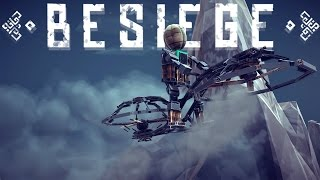 Besiege Best Creations - Amazing Non-modded Designs, Hoverbike, Basketball & More!(Besiege Gameplay)