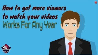 How to get more views on Youtube For Any Year | SEO rank