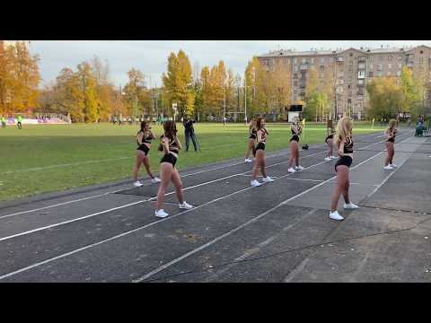 Группа поддержки Регби Клуба ЦСКА Lucky Demons Cheerleaders черлидеры черлидинг