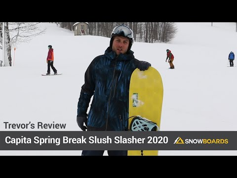 Video: Capita Spring Break Slush Slasher Snowboard 2020 23 40