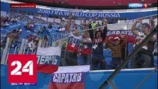 Сборные России и Египта приехали на стадион в Санкт-Петербурге - Россия 24