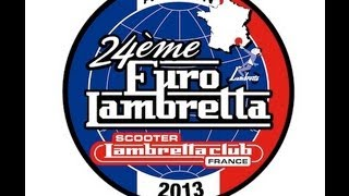 preview picture of video 'Euro Lambretta 2013 Avignon France'