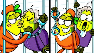 How to Break out From Courtroom! Funny Situations by Avocado Couple