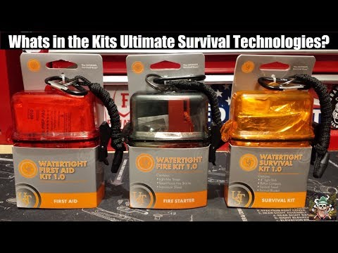 Seriously?! Ultimate Survival Technologies UST | Survival Kit | First Aid Kit | Fire Starter Kit