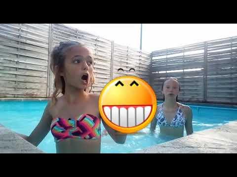 Cap ou pas cap piscine avec Emma/Manon