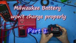 late night Milwaukee Battery Repair part 1