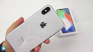 Apple iPhone X (Silber/256GB): Unboxing, Hands On & Erster Eindruck! - touchbenny