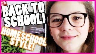 BACK TO SCHOOL! HOMESCHOOL STYLE! 400K SUBS CELEBRATION!     KITTIESMAMA