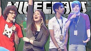 Minecraft | DANTDM & VIKKSTAR vs STAMPY & SQAISHEY | Build Battle Minigame