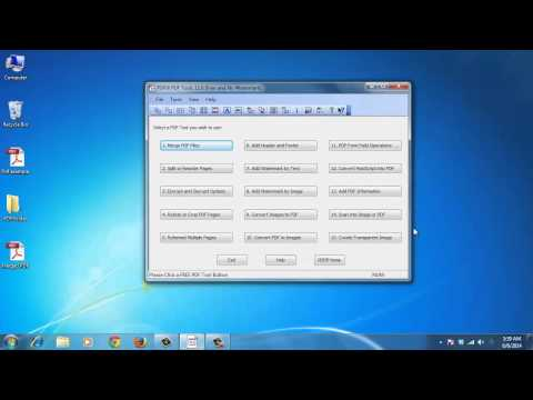 How to Split, Merge and Paginate PDF files