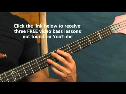 easy bass guitar song lesson sweet emotion aerosmith steven tyler