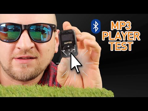 🔴 BLUETOOTH MP3 PLAYER DEUTSCH TEST AGPTEK A26 🤩