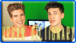 Joey Graceffa & Doug - URBAN DICTIONARY CHALLENGE!