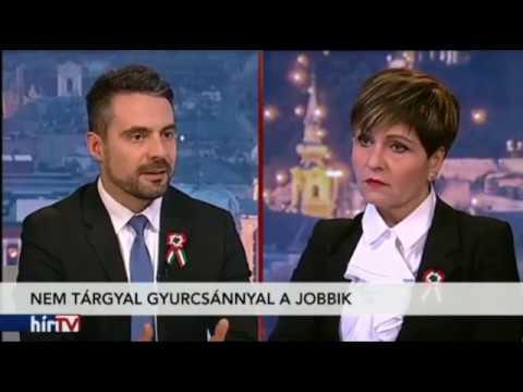 Botrány: Simicska tévéjében Kálmán Olga beszélget a nácinak kikiáltott Vona Gáborral a demokráciáról