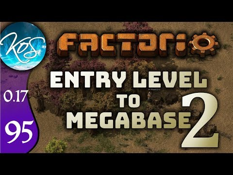 Factorio 0.17 Ep 95: TOPPING UP GEARS - Entry Level to Megabase 2 - Tutorial Let's Play, Gameplay