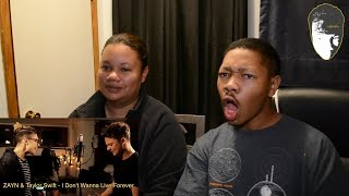 Mom reacts to William Singe & Conor Maynard - I Don't Wanna Live Forever - ZAYN & Taylor Swift