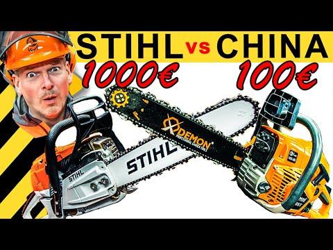 100€ CHINA KETTENSÄGE schlägt 1000€ STIHL? WAS TAUGT MADE IN GERMANY? | WERKZEUG NEWS #47