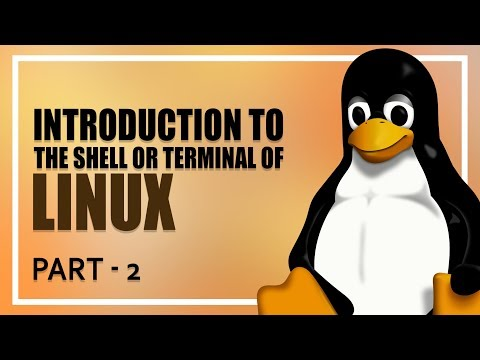 Introduction To Using The Shell Or Terminal Of Linux | Part 2 | Eduonix