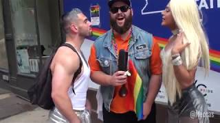 NYC Pride Paraders Are Obsessed With Trump | FLECCAS TALKS