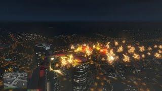 GTA 5 Mods #43 - Ghost Rider bay lượn trên bầu trời GTA 5