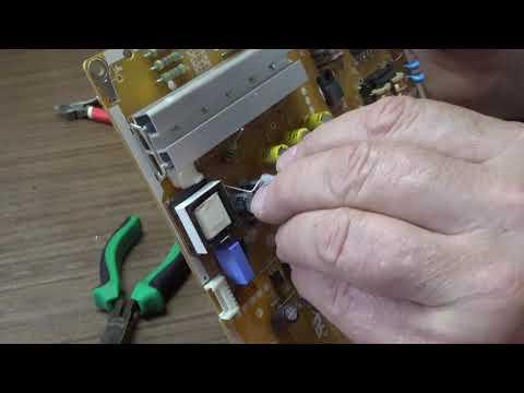 Доработка блока питания EAX66203001 LGP3942D-15CH1 PLDF-L402A 3PCR00846C ограничение тока подсветки