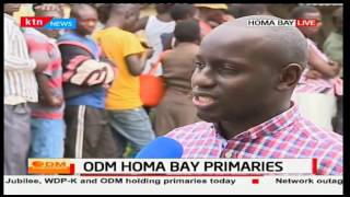 No signs of voting or voting materials in some areas of Homa Bay with tight security presence