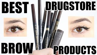 Best Drugstore Brow Products 2020 || Beauty with Emily Fox