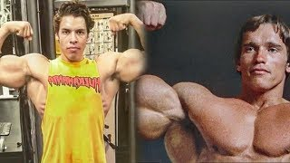 Arnold Schwarzenegger's Son Training In The Gym 2019 - Similar Bodybuilding Genetics
