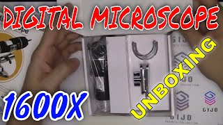 Unboxing & Testing Digital Microscope 1600X USB Camera