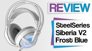 SteelSeries Siberia V2 Frost Blue Edition - Gaming Headset - Review - deutsch/german