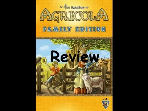 Nerd E Reviews Agricola Family Edition