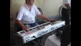 Kamal Segah Roland Fantom X6 Azeri Sadaxli Marneuli sound.AVI